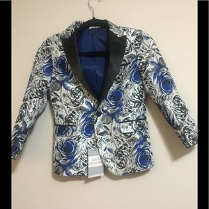 Suslo Couture Boy's Blue Blazer